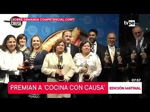 Programa 'Cocina con Causa' recibe galardones internacionales
