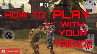 How to play with your friends on Brothers In arms 3
