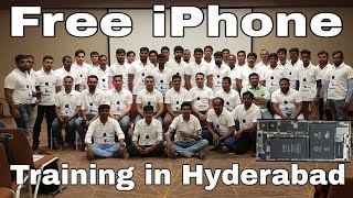 Free iPhone Training in Hyderabad Successful
