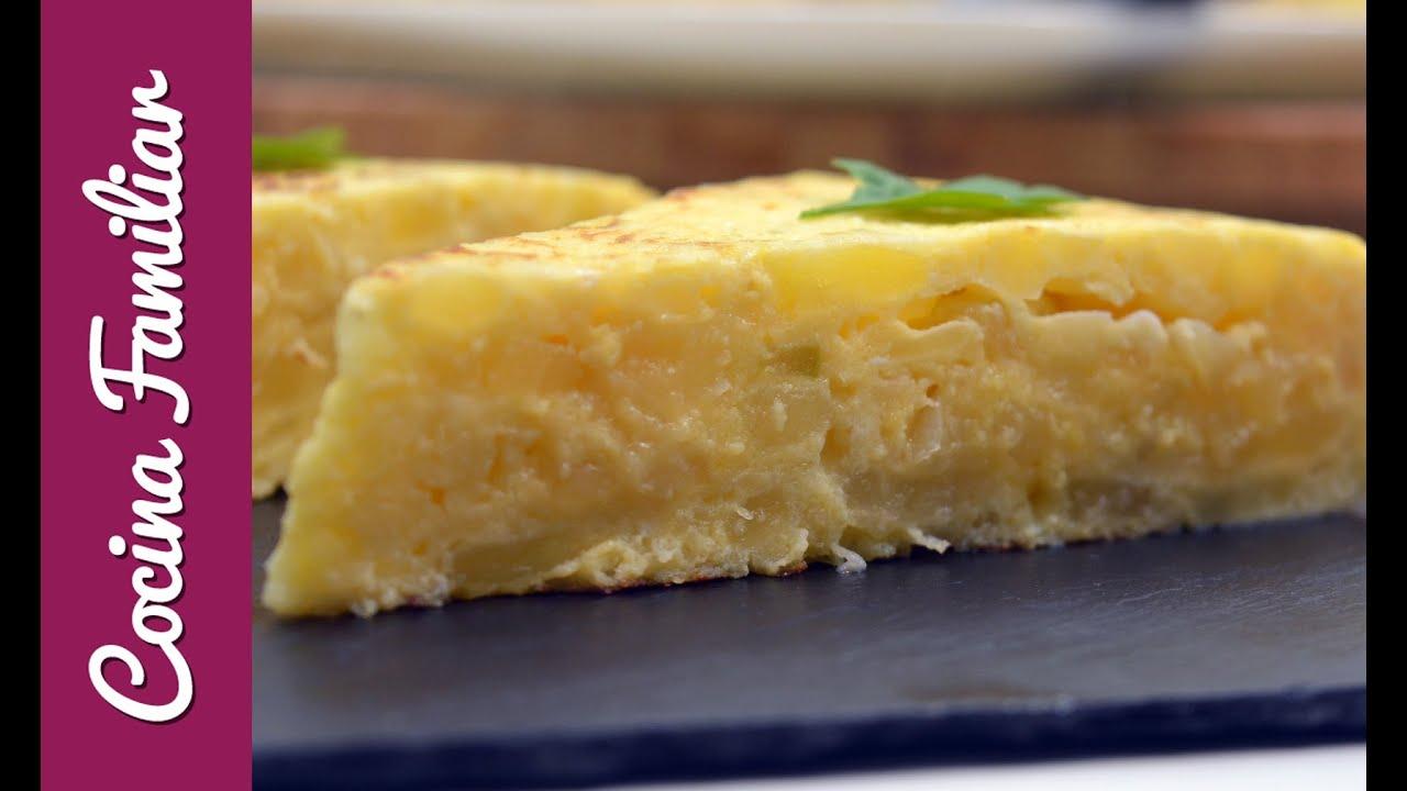 Tortilla de patata y calabacin  | Javier Romero Cap. 59 - Temporada 2