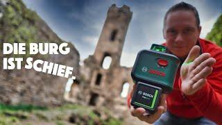Bosch AdvancedLevel 360 und Quigo Green Kreuzlinienlaser (grün) - Vergleich und Test 2020 - deutsch
