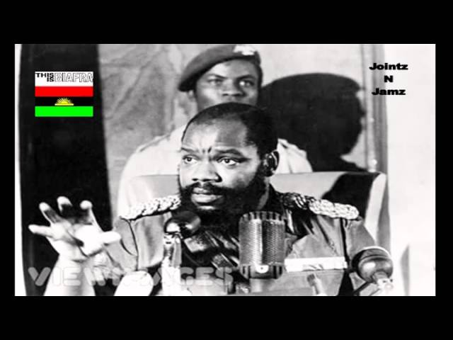 OJUKWU's SPEECH DURING THE BIAFRAN WAR (A)