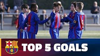 FCB Masia-Academy: Top goals 18-19 February