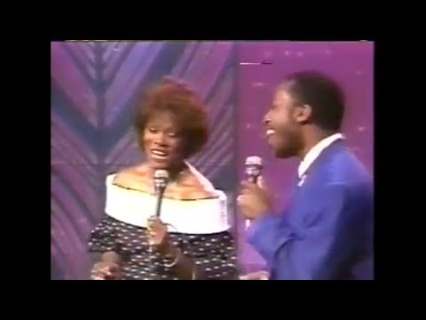 Dionne Warwick & Jeffrey Osborne - Love Power (The Tonight Show 1987)
