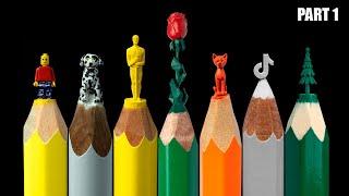 Best TikTok Video About Carving Pencils DIY CRAFTS (Part 1)