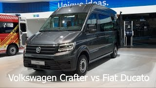 Volkswagen Crafter Bus 2017 vs. Fiat Ducato Bus 2017