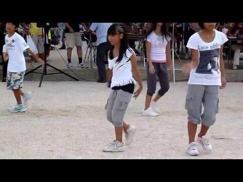 20110806 大宮小学校☆夏祭り☆ダンスクラブ