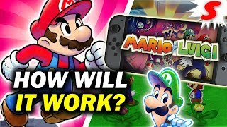 How Will NEW Mario & Luigi Games Work on Nintendo Switch? [Siiroth]