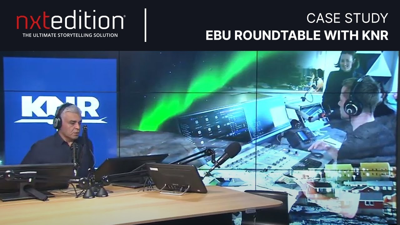 EBU Roundtable with KNR, National Broadcaster of Greenland