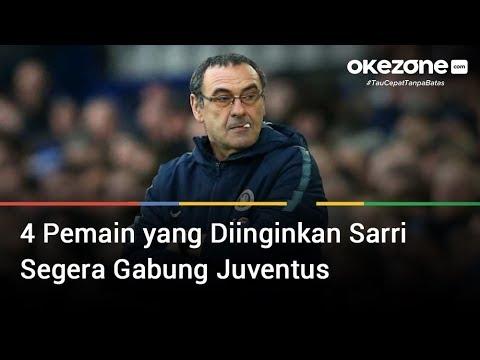 4 Pemain yang Diinginkan Sarri Segera Gabung Juventus
