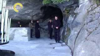 preview picture of video 'Réouverture de la Grotte de Lourdes après plusieurs mois de travaux'