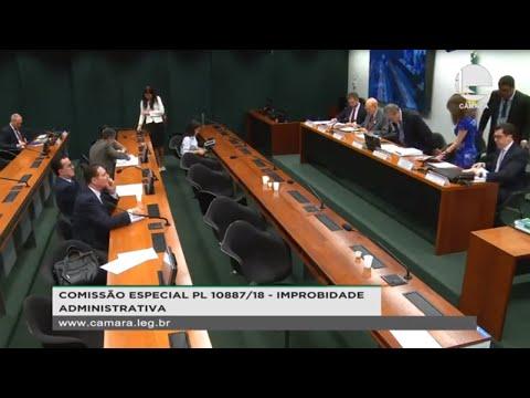 PL 10887/18 - Reforma da Lei de Improbidade Administrativa - 23/10/2019 - 15:19
