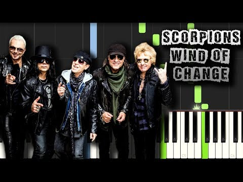 Scorpions - Wind of Change - Piano Tutorial Synthesia (Download MIDI)