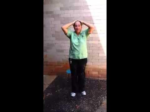 Gulf Breeze High School Cafeteria Staff Ice Bucket Challenge