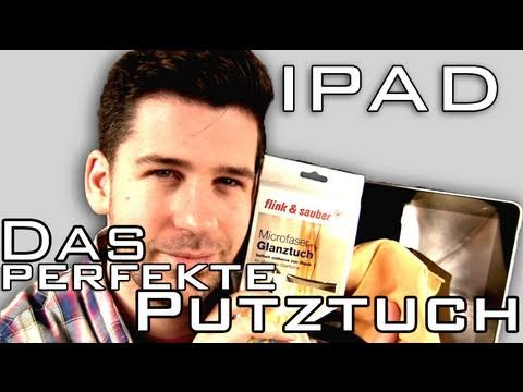 Das Perfekte Putztuch für iPad & Co unter 2 €