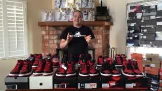 ShoeZeum One Dozen Different BRED Nike Air Jordan 1s