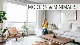 APARTMENT TOUR | My Modern & Minimalist Living Room Tour