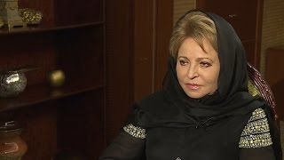 Валентина Матвиенко после встречи с королём Саудовской Аравии дала эксклюзивное интервью  RT
