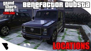 Benefactor Dubsta Location GTA Online 2018