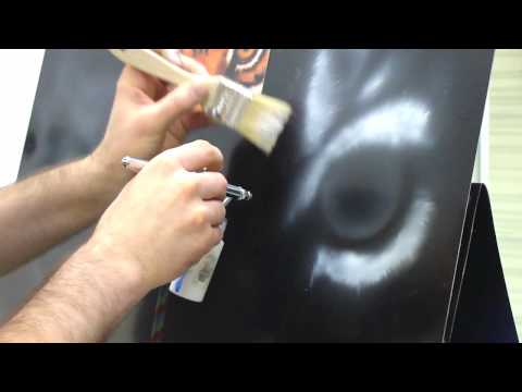 Air Brush Classes Part one - YouTube