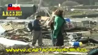 preview picture of video 'Cartagena de Chile TERREMOTO Litoral Central 27-2-2010.'