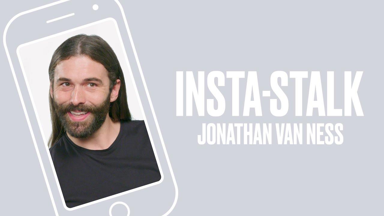 Queer Eye's Jonathan Van Ness Insta-Stalks the Fab Five