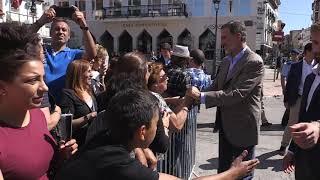 SS.MM. los Reyes visitan la localidad madrileña de Arganda del Rey