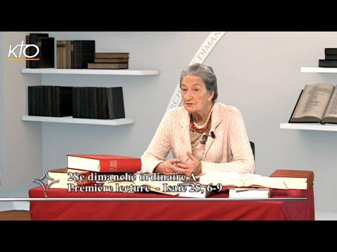 28e dimanche ordinaire A - Intégrale des lectures