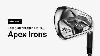 Apex 19 4-PW Iron Set w/ True Temper Elevate 95 Steel Shafts-video
