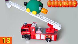 Машинки мультфильм - Город машинок - 13 серия: Пожарная машина. Развивающие мультики