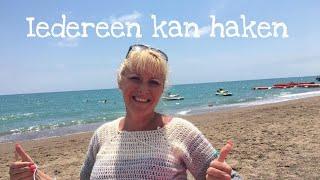 #Iedereenkanhaken© #Actionsweater#haken #truitje Deel 1 #EASY #crochet#Nederlands#handmade #tutorial