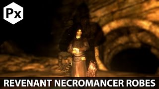 Skyrim Mod Spotlight: Revenant Necromancer Robes