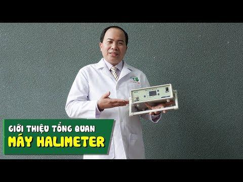 Giới thiệu tổng quan máy đo nồng độ hơi thở Halimeter