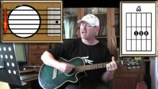 Let Your Love Flow - The Bellamy Brothers - Acoustic Guitar Lesson