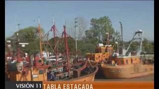 preview picture of video 'OBRAS EN EL PUERTO DE GENERAL LAVALLE'