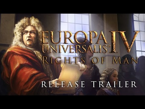 Europa Universalis IV - The Rights of man, Release Trailer thumbnail