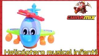 Helicóptero Musical Infantil