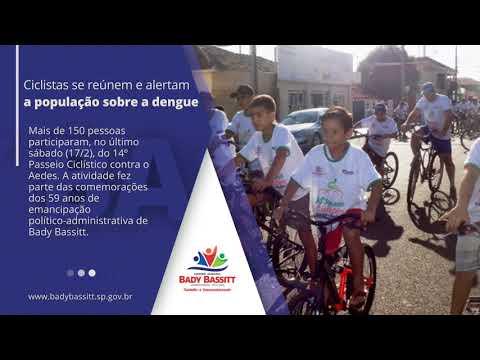 Passeio ciclístico contra o Aedes 2018 reúne mais de 150 pessoas.