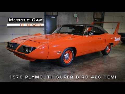 1970 Plymouth Superbird 426 Hemi Muscle Car Video