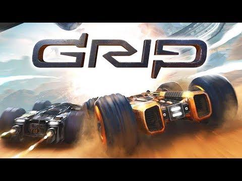 GRIP это крутые боевые гоночные МАШИНЫ снаряженные тяжелым оружием Детский Летсплей
