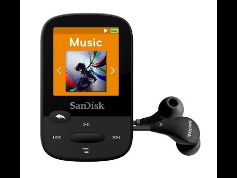 SanDisk Clip MP3 Player Review