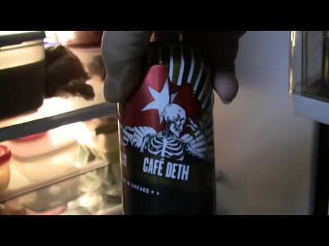 Beer Review # 2984 Revolution Brewing Cafe Deth Imperial Oatmeal Stout