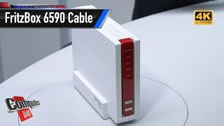FritzBox 6590 Cable: Kabel-Router ausgepackt