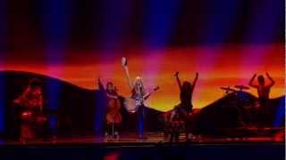 Soluna Samay - Should've Known Better (Denmark) Eurovision 2012 Grand Final Original HD 720P