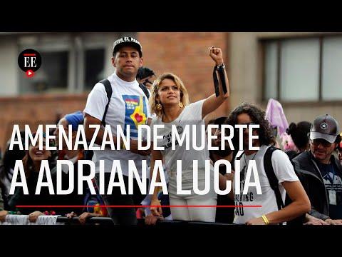 Amenazas contra Adriana Lucia: ella acusa a politicos que la difamaron - El Espectador