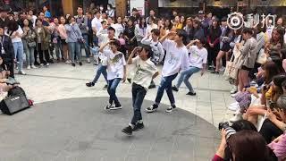 【BOY STORY】Hongdae Busking 20180520 p10 (cover Love Scenario -iKON 2nd time)