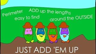 Adam Up Maths - Perimeter Song