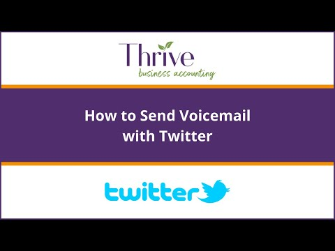 How To:  Send a Voicemail in a Tweet