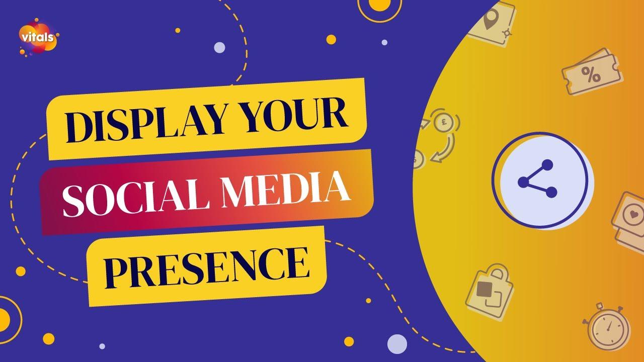 Social Media Buttons | VITALS