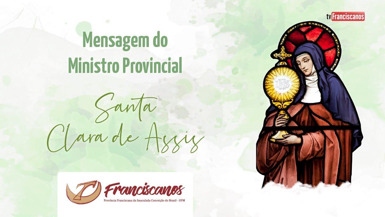 Mensagem do Ministro Provincial | Santa Clara de Assis